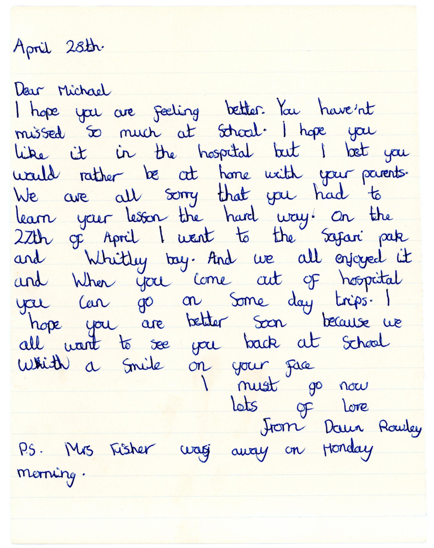Dawn Rowley's original letter