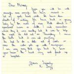 K Bray's original letter